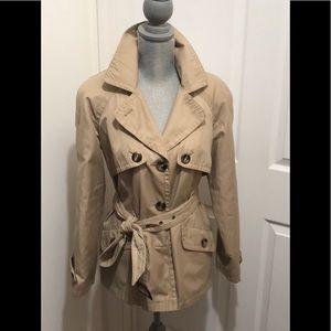 Jones New York 3/4 Trench Coat